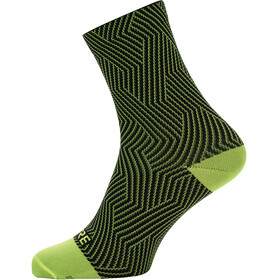 GORE WEAR C3 Optiline Mid Socks Unisex neon yellow/black